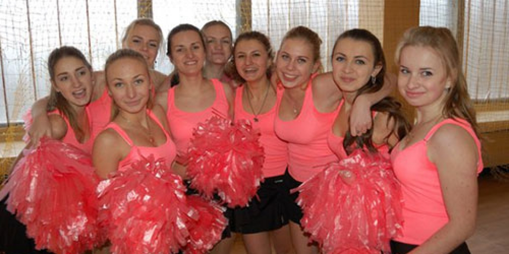 Cheerleaders мех-мату 2013