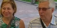 Пан Петро і пані Діана Бігуни з Канади